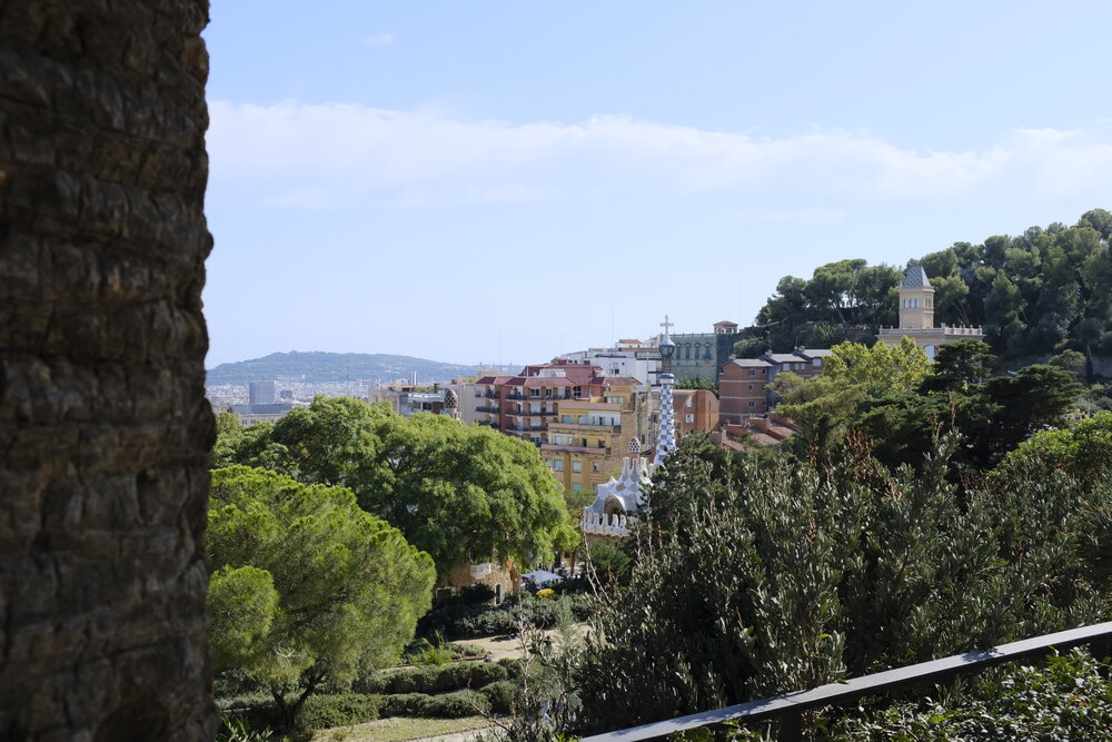 The view from Park Guell